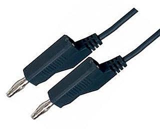 Propojovací kabely s banánkem 1.5mm2 délka 1m černý