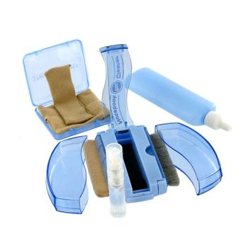4World čistící antistatická sada na LCD/plasty/CD/DVD/notebook