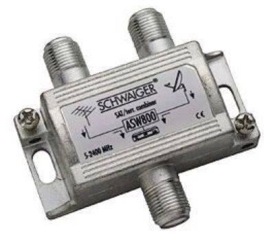 """ASW-800 TV sluč./rozbočovač SAT+TV F"""""""