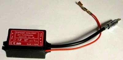 Zesilovač pro autoradia I109 18dB