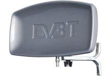 DVB-T anténa UHF 28dB UHF venkovní 12V/30mA úchyt na okno RRYNIAK