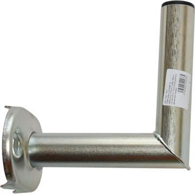 Držák satelitní 200mm v.160x42mm na stožár galvanicky upraveno zinkem