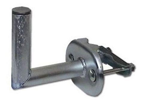 Držák satelitní 350mm v.460x42mm na stožár +2 šrouby galvanicky upraveno zinkem