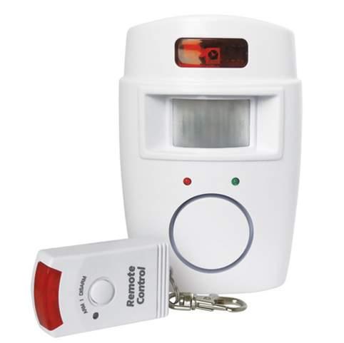 Alarm nástěnný s dálkovým ovládáním