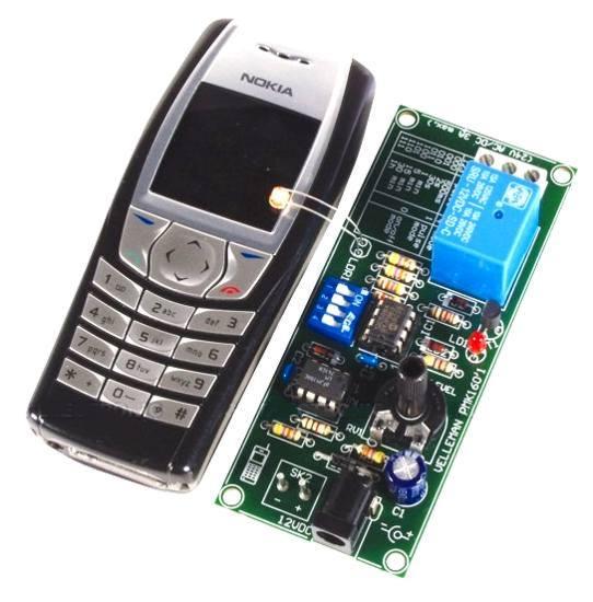 Dálkové ovládání mobilem - MK160 stavebnice