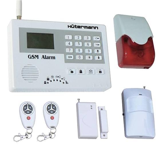 Alarm domovní bezdrátový GSM HG-114M-CZ sada