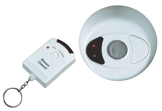 Stropní alarm 360°s dálkovým ovládáním