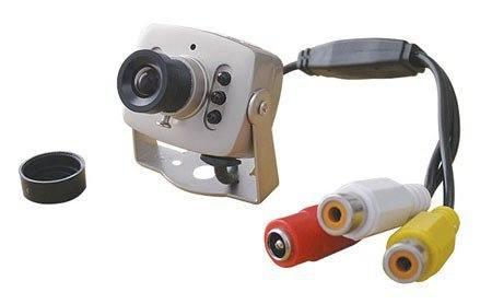 Kamera JK309 CMOS barevná s mikrofonem + zdroj