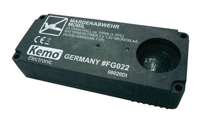 Odpuzovač kun - přenosný Kemo FG022