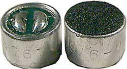 Mikrofon elektret 1.5V-10V, 1.5Kohm, 50Hz-12kHz 9.7x6.7mm