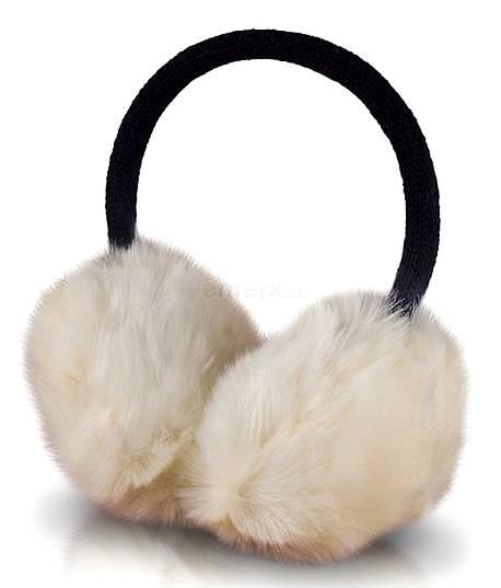 Čelenka zimní se sluchátky Forever FLUFFY béžové