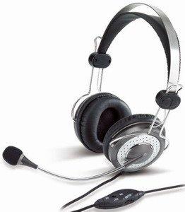 Genius HS-04SU + protišumový mikrofón fce ztlumení reg.hlasitosti MSN/Skype/MP3