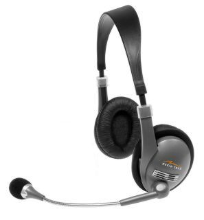 Media-tech MT3504 CORONA + mirofon 100-18kHz elast.kabel 2.0m regulace hlas.
