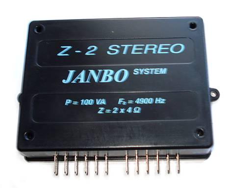 Vyhýbka auto 2-pásma 2x100W/4 stereo Z2