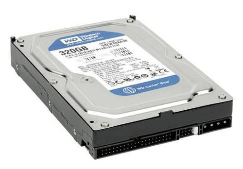 """HDD 320GB WD Caviar 3,5"""" 8MB Ultra ATA/100 WD3200AAJB"""