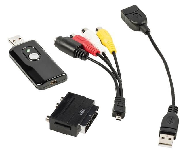 Převodník video USB - převod VHS do digitální podoby CSUSBVG100