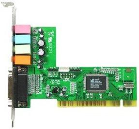 Zvuková karta C-Media CMI8738, 4-kanál,PCI