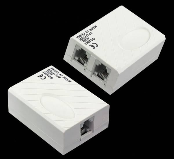 ADSL Splitter GG2003 1xRJ-11/2xRJ-11(TEL.+NET)