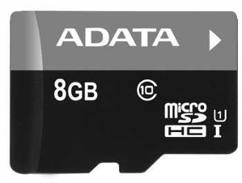 ADATA Premier micro SDHC karta 8GB UHS-I Class10