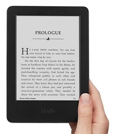 Amazon Kindle 6 Touch černý (sponzorovaná verze)