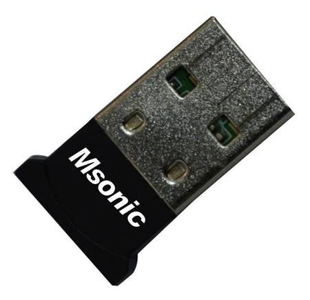 MSONIC Bluetooth Adaptér v2.0+ EDR USB MC7468NK