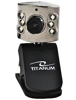 Web.kamera Titanum TC102 Amber 6xLED s mikrofonem