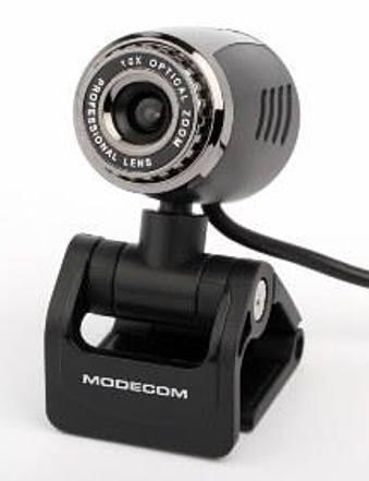 Modecom MC-Jupiter webkamera 2Mpix, černo-stříbrná