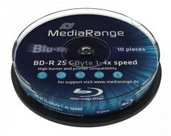 Blu-ray Mediarange 25GB BD-R 4x 10case