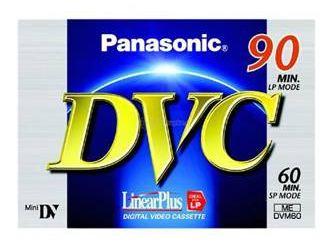 Panasonic MiniDV 60 AY-DVM60FE pro videokamery