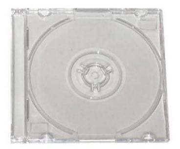 Plastový obal CD 1x 8cm