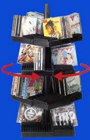 Stojan CD 104x boeder CD-Rotarack - Doprodej