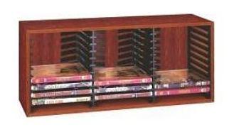 Stojan DVD 33x eject černý dřevo Doprodej