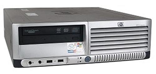 HP Compaq Dc7600 SFF Intel P4 3GHz/1024MB DDR2/80GB HDD/DVD-ROM/Win7