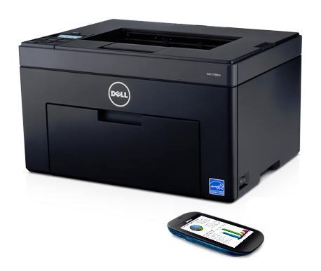Tiskárna Dell c1760nw barevná Laserová - repas
