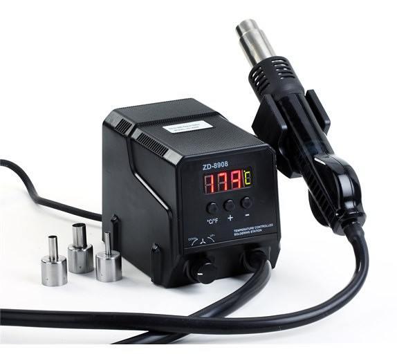 Horkovzdušná vyfoukávačka ZD-8908 (max.500°C)