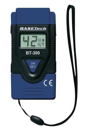 Měřič vlhkosti dřeva a stavebních materiálů BT-300 BaseTech