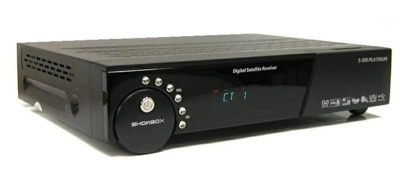 DVB-S SHOWBOX S-301 HDMI Platinum PVR USB