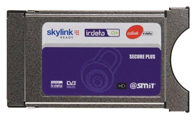 Modul Irdeto SMIT CI+ Skylink Ready dekodér pro sat.příjem v systému Irdeto