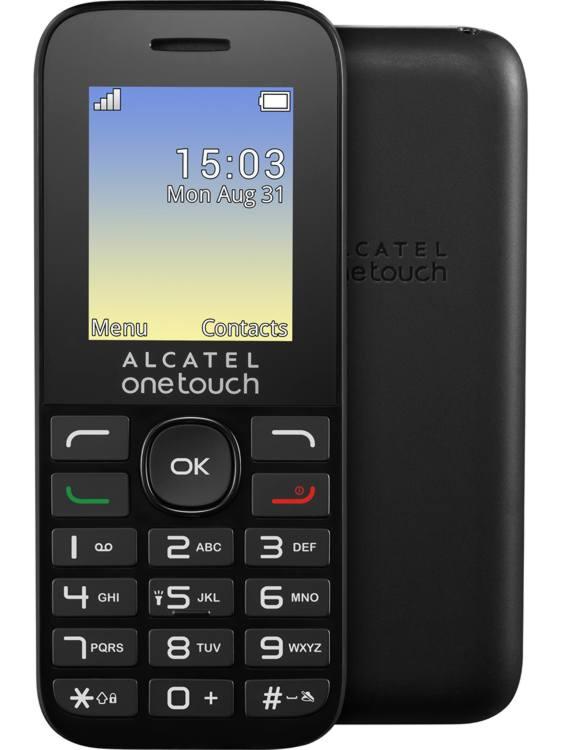 ALCATEL ONETOUCH 1016G - černý