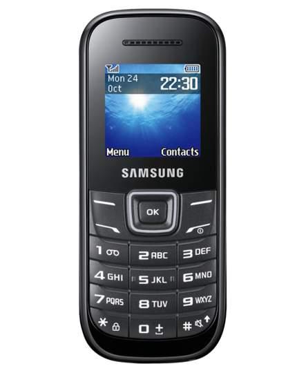Samsung E1200 mobilní telefon black