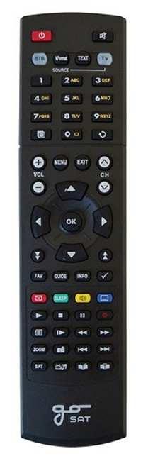GoSat dálkový ovladač GS7050, 7055, 7056, 7060 HDi