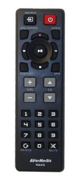 Dálkový ovládač AVERMEDIA A827A pro AVerTV Volar