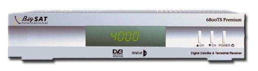 DVB-T/S BigSat DSR 6800 combo *DOPRODEJ*