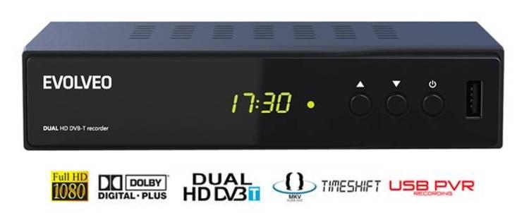 DVB-T Evolveo Delta DT-4050HD 2xHD tuner