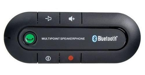 Bluetooth handsfree V3.0 Car Kit sada do auta pro 2 telefony